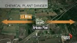 Explosions reported at chemical plant in Houston