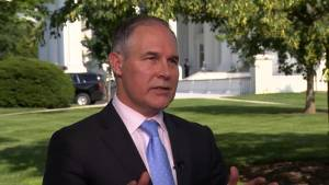 EPA chief Pruitt says Trump made informed decision to exit Paris climate accord