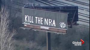 'Kill the NRA': Vandals target Kentucky billboard in wake of Florida school shooting
