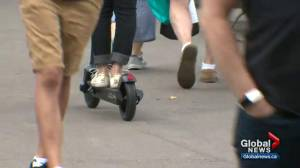 E-scooters arrive in Edmonton