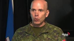 Military official explains task force's role in combating Fort McMurray wildfire