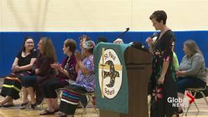2 Lethbridge teachers honoured with Blackfoot names