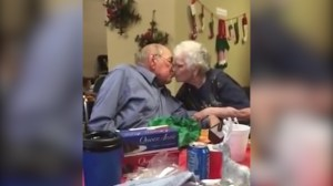 Video captures moment grandmother receives new engagement ring
