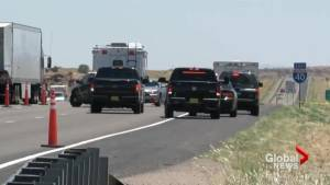 New Mexico police investigate vehicle Canadian teacher found dead in