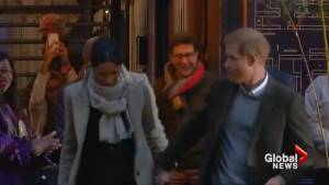 Prince Harry and Meghan Markle make first official public outing of the year