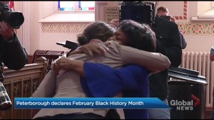 Peterborough proclaims February Black History Month