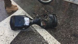 Montreal girl's hoverboard explodes