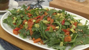 Super summer salads using kitchen ingredients