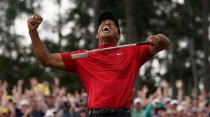 Tiger Woods wins The Masters for his 15th major victory and first in 11 years