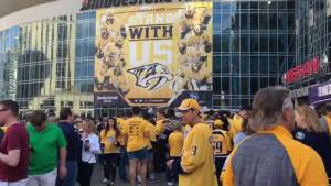 Predators beat Jets 5-4 in double overtime to tie up series at 1-1