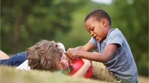 Why rough playing may benefit children
