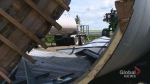 Cleanup underway after severe storm wallops Kindersley