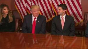Trump, Ryan hold 'detailed' meeting; discuss taxes, healthcare