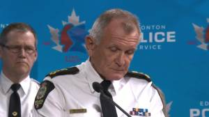 Edmonton Police Chief says it appears attack was by lone individual (00:33)