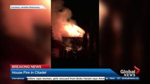 Fire severely damages home in northwest Calgary
