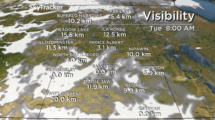 Saskatoon, Regina under special air quality statement