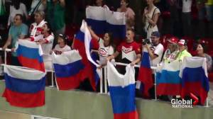 Russia's sports doping program involved thousands of athletes (03:13)