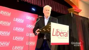 New Brunswick's new Liberal leader holds rally in Miramichi