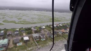 Hurricane Florence: U.S. Air Force survey flood zones in South Carolina in wake of storm