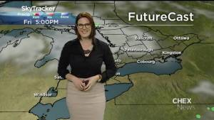 Timing key for weekend weather