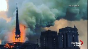 Notre Dame Cathedral Fire: Multiple angles show iconic Paris landmark engulfed in flames (01:05)