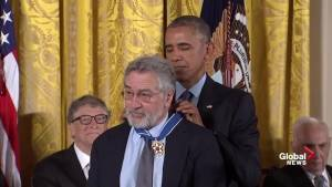 Robert De Niro receives Presidential Medal of Freedom