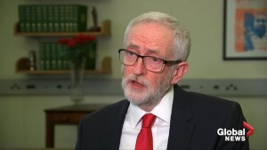 Jeremy Corbyn hints at no-confidence vote on Brexit