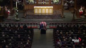 Bush funeral: Former president remembered as active church member