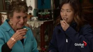 Sophie Lui samples oolichan grease