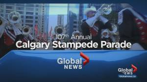 2019 Calgary Stampede Parade in 15 minutes