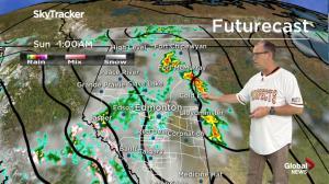 Global Edmonton weather forecast: June 9