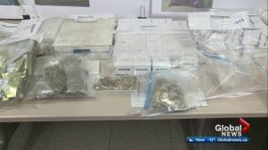 Red Deer RCMP reveal one of largest drug busts there ever
