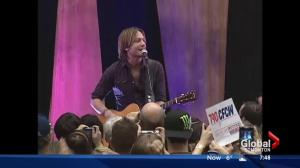 First concert at Rogers Place performed by Keith Urban