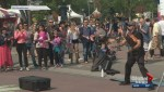 Edmontonians brave smoke to attend Fringe Festival, marathon