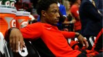 The Raptors trade DeMar DeRozan