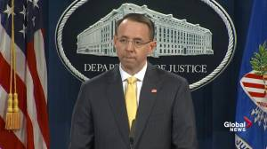 No allegation that any American was a willing participant: Rosenstein on election meddling