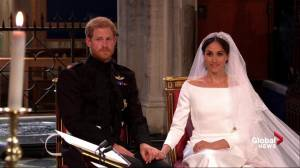 Royal Wedding: Prince Harry shares tender moment with Meghan Markle