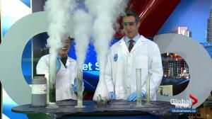 Get Sparked: Chemical reactions to make special effects