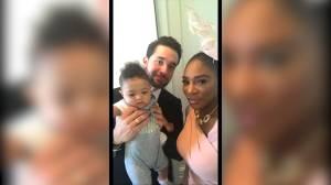 Queen of tennis Serena Williams shares her royal wedding prep on social media