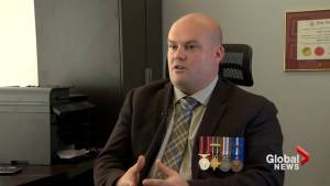 Afghanistan veteran speaks about the importance of honouring those who served