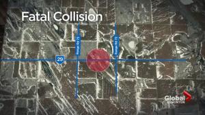 4 people killed in head-on crash in eastern Alberta