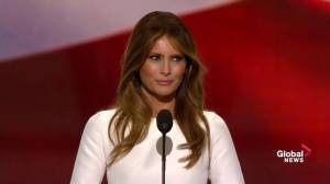 Melania Trump says her husband will make 'a great and lasting difference' as president