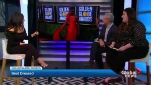 Golden Globes fashion recap with Bahar Niramwalla