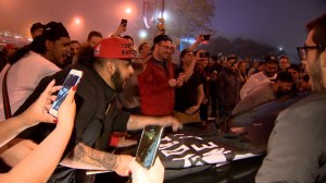 Toronto Raptors fans block traffic as celebrations of Eastern Conference win continue