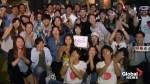 Japanese fans celebrate in Melbourne after Naomi Osaka's Australia Open win