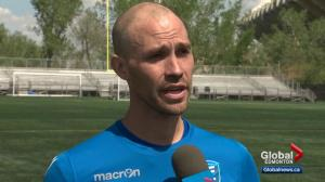 FC Edmonton's goalkeeper coach plays important role on team