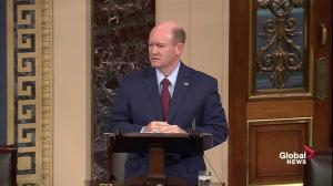 Sen. Coons expresses opposition to final Kavanaugh vote