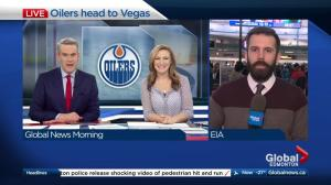 First Edmonton Oilers game in Las Vegas draws Albertans to Sin City