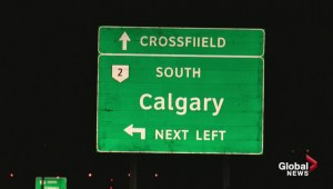 "Crossfield residents dismayed over incorrectly spelled ""Crossfiield"" sign on highway"