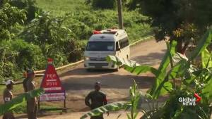 Rescue effort continues with 8 boys pulled from flooded cave
